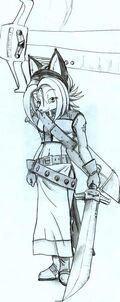 Foxxy warrior by Kite MCcloud
