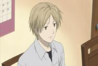 Natsume listening to touko