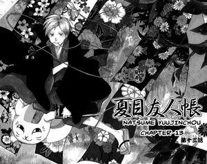 Manga Chapter 13 cover