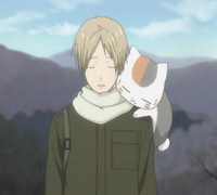 Natsume & nyanko had to face annoying nishimura tired