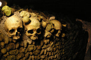 Parisians in the Catacombs