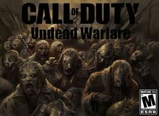 Call of Duty Undead Warfare Poster
