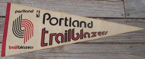 File:1970s Portland Trailblazers Pennant.jpg