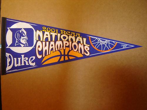File:2001 Duke Blue Devils National Champs Pennant.jpg