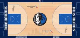 Dallas Mavericks court logo