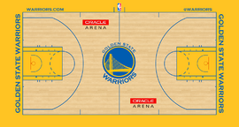 Golden State Warriors court logo