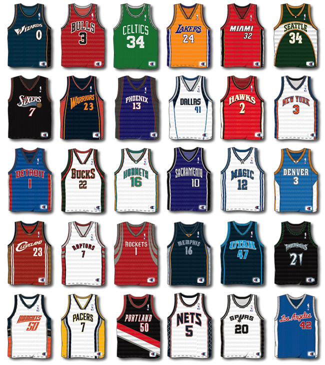 Group of Jerseys
