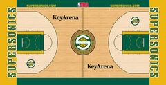 Seattle SuperSonics court 2008