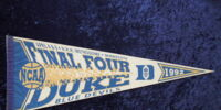 Duke Blue Devils/Pennants