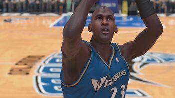 Michael Jordan WA Wizards