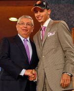 Stephen with david stern