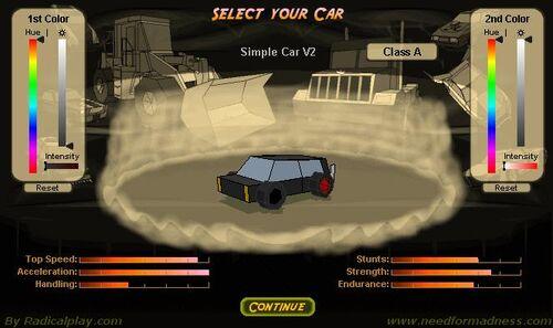 Simple car V2