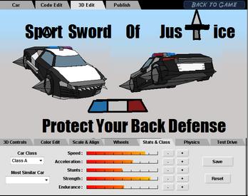 Sport Sword Of Justice