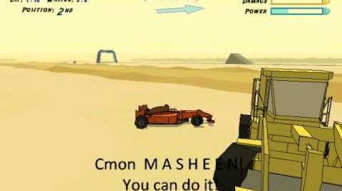 A friendly conversation between MASHEEN and Formula 7