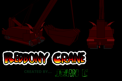 Redbony Crane