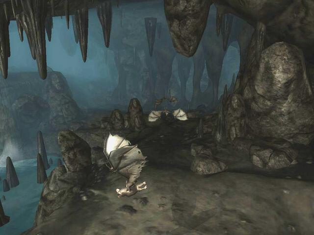 File:Flowstone Cave Bats.jpg