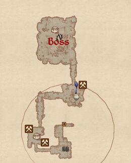 Rullocks Cave Map