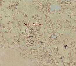 Faldrin Exterior map
