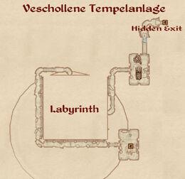 Verschollene tempelanlage map