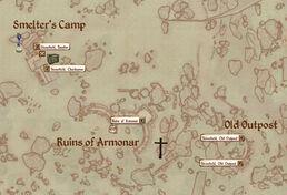 Armonarext map