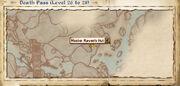 Master Raven's hut map