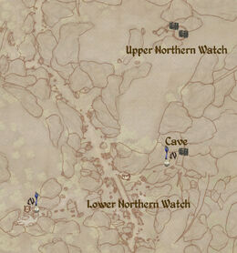 Nothern Watch map