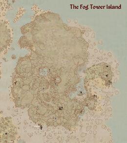 Fog island map