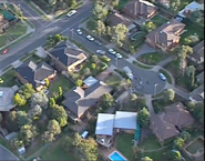Naybers ramsay st from air