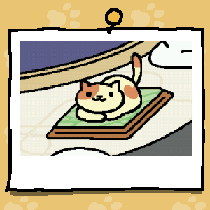 File:Cream-san resting on Marble Pad.png