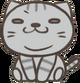 Cat waffy