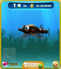 Rare Short Black Seamoth
