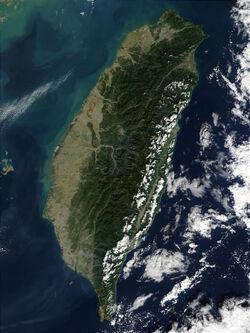 Taiwan NASA Terra MODIS 23791