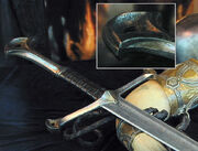 Andúril and Horn of Gondor
