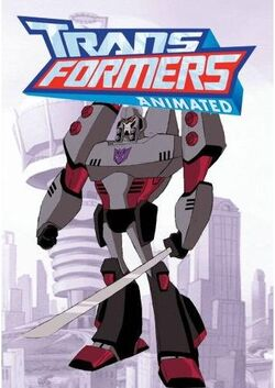 Megatron-animatedart