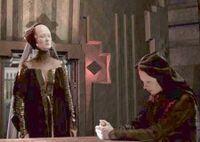 Reverend Mother Holding Lady Elara Captive