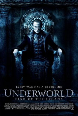 Underworld Rise of the Lycans poster