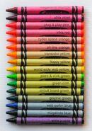 Crayola Techno Brite Crayons