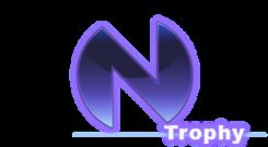 Hyperdimension Neptunia trophy logo