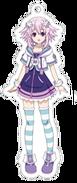 Neptune Acrylic Keychain Anime