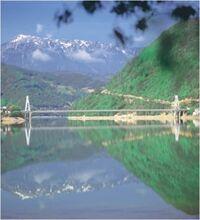 Viseči most Ostrožac