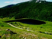 Crvanjsko Lake