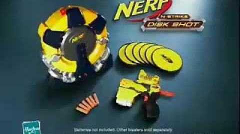 NERF N-Strike Disk Shot Commercial