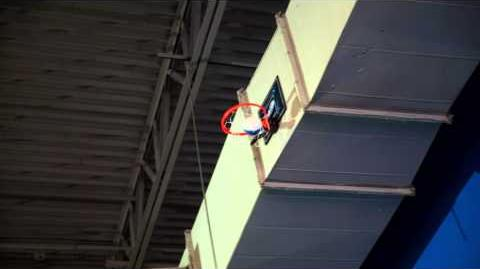 NERF Stunts Cyber Hoop Basketball Alley-Oop Perfect Shots