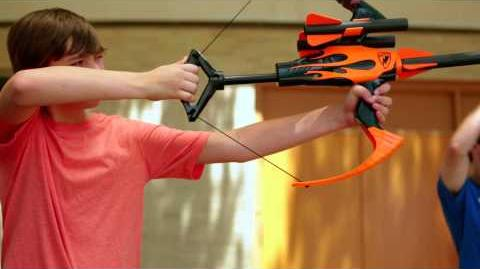 NERF Perfect Shots - The Archer Shot - N-Strike Blazin Bow