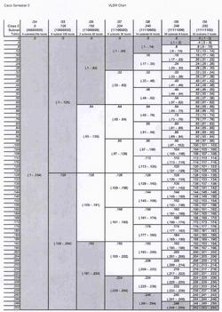 VLSM chart