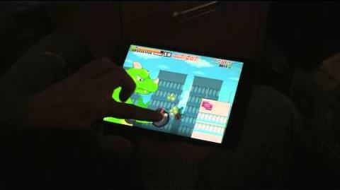 Roar Rampage on iPad Mini (beta preview 3)