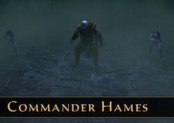 Commander Hames