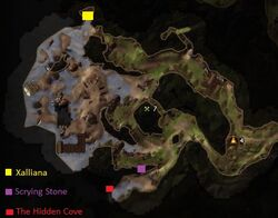 NW Raven Cliff Beach Map2