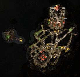 The Theft of the Crown Quest Map
