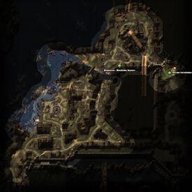 The Dead Rats Quest Map